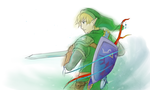 Warrior of Hyrule by Outering