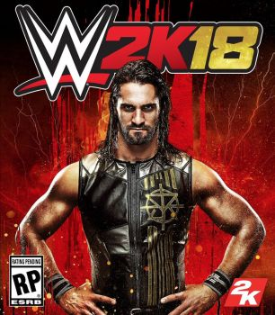 real WWE 2K18 cover by leonrock84