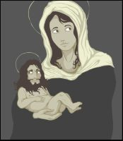 Madonna and Child by TGds
