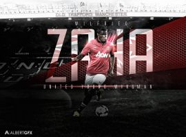 Wilfried Zaha (Manchester United) by AlbertGFX