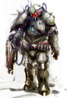 Mad Soldier by Kronium