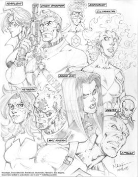 WildGuard Rejects sketch by ToddNauck