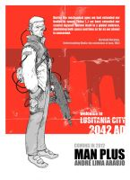MAN PLUS poster 2 by erdna1