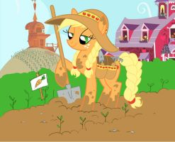 48. Apple Jack In The Garden by Skeletal-K9
