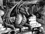 Dragon of the New City by Halo34