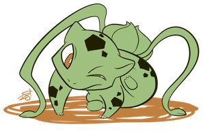 001 - Bulbasaur by the-Mad-Hatress