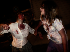 Zombie Fight by LoveRush