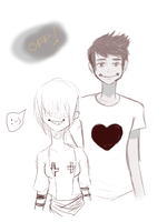 Off: Zacharie and Sugar by teddileah