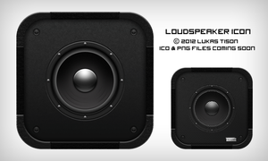 Loudspeaker icon by nepst3r