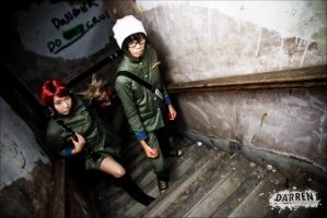 KHR: Heading Up the Stairwell by d-a-i-k-o-n