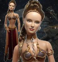 Princess Leia Gold Bikini Doll by ShannonCraven