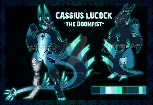 Cassius by Mikkynga