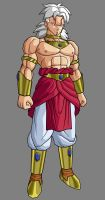 Baby Broly, first form by alessandelpho