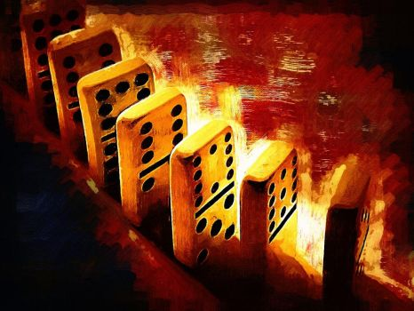 Games People Play-Dominoes by insaneone