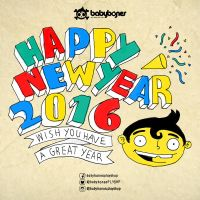 Babybones - Happy New Year 2016 by paldipaldi