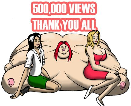 I made my 500000 view mark by Be-lover228