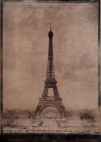Eiffel Tower by rawimage