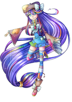 Full Body Commission - Cure Canvas by Chance-To-Draw