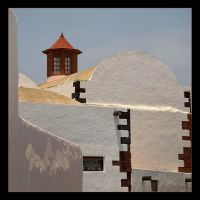 Brown Tower And White Walls by skarzynscy