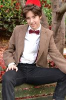 a portrait of the doctor as a young babe by saramonel