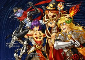 Slayers+RO - We Will Rock You by piku-chan