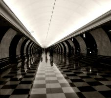 Moscow metro by Marietta-