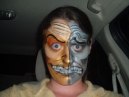 Face Paint- Double Face by Jshibby