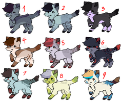 oh snap some adopts by barkuyatogami