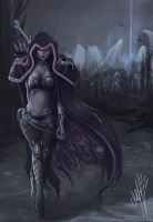 Sylvanas the Forsaken by japanmeonly