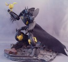 Transformers Batman Batbike 2 by Shinobitron