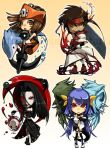 Guilty Gear Chibis 1 by cika