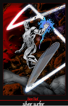 The Silver Surfer by merkz