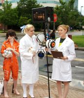 Aperture Science by sadwonderland