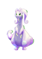 goodra [request] by CynicalAshhole