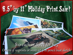 Holiday Print Sale! by Shadow-Wolf