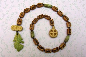 Druid Prayer Beads by Lolair
