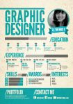 CV Graphic Designer by ROY6199