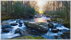 White Water on Little River 2 by slowdog294