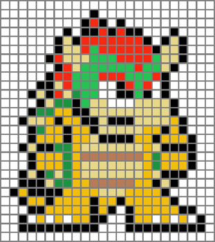 Bowser Grid by Dragonshadow3