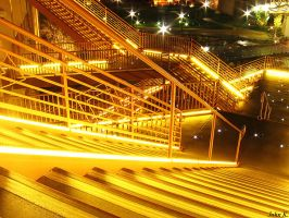 Glowing Stairs 2 by john-k