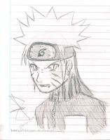 Demon naruto sketch by idolnya