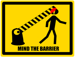 Mind the Barrier by TheDrifterWithin