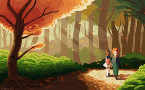 forest wanderers by ohnogangsters