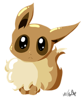 Chibi Eevee by NoaQep