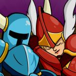 Shovel Knight Snuggles-Preview by Harry-Monster