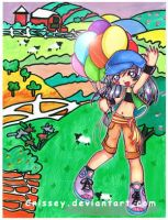 +balloons+ by Crissey by ChibiArt-Club