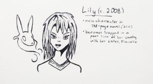 OC Inktober Day 4 - Lily by Skyleap