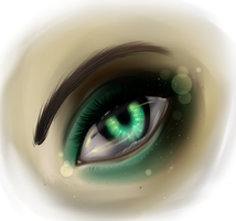 Mermaid Eye by RuuRuu-Chan