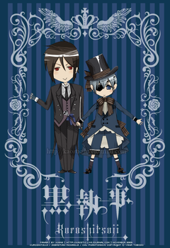 Sebastian and Ciel Chibi by llawliet-ryuzaki