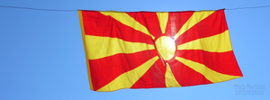 The Flag of Macedonia by LenSpirations